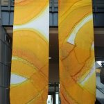 Kristen Gilje  Philadelphia Seasonal Banners, White and Gold