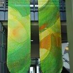 Kristen Gilje Philadelphia Seasonal Banners, Green