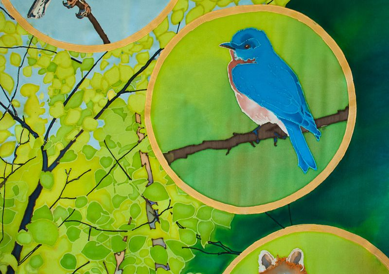 Birch Forest Bluebird