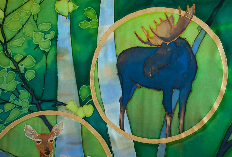 Birch Forest Moose