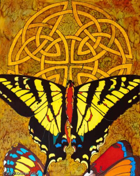 ©Kristen Gilje, Tiger Swallowtail and Friends, 28x22