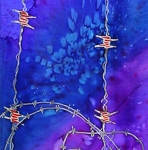 Barb Wire as Lenten Thorns